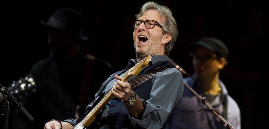 Eric Clapton celebra 70 anos com shows em Nova Iorque e Londres